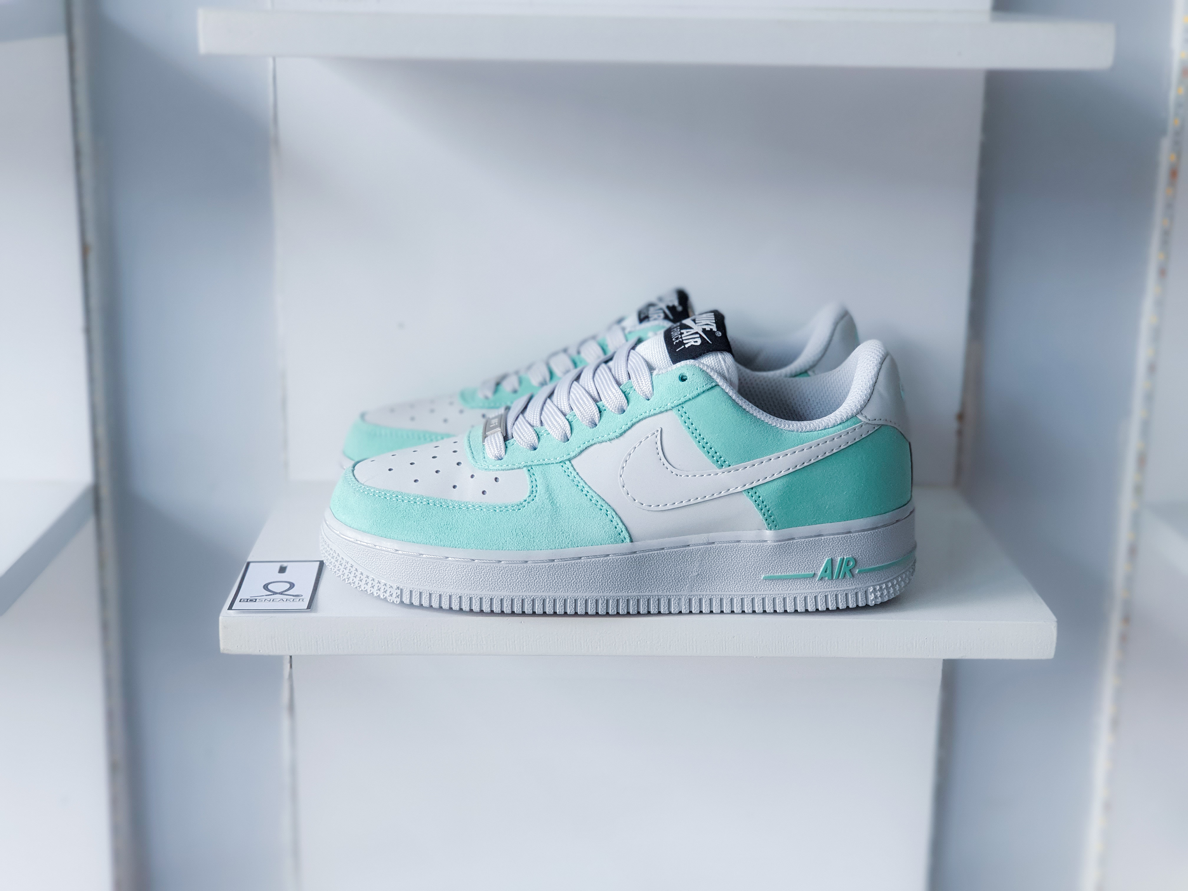 Nike Air Force 1 Mint Af1 Xam Xanh There are 78 nike air force 1. bd sneaker